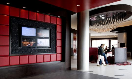 The Renaissance Hotel at Patriot Place bills itself as the only four-star hotel and spa between Providence and Boston.