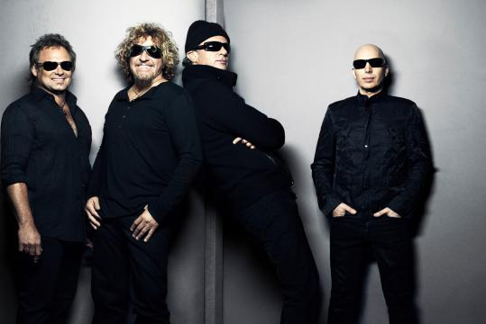 From left: Michael Anthony, Sammy Hagar, Chad Smith, and Joe Satriani have joined together to form the supergroup Chickenfoot.