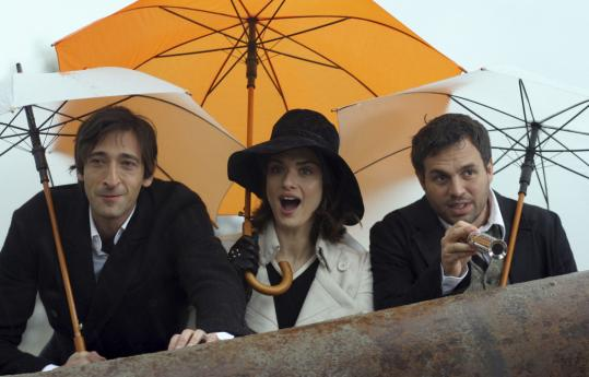 Title characters Adrien Brody (left) and Mark Ruffalo target an heiress played by Rachel Weisz in ''The Brothers Bloom.''