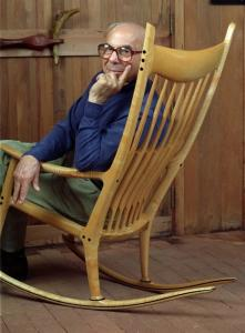 rocking chair plans sam maloof