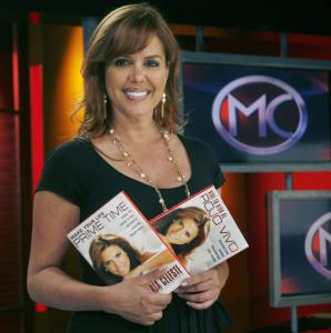 Maria Celeste Arraras, the host of a popular news and entertainment show on Telemundo, has a new book out.