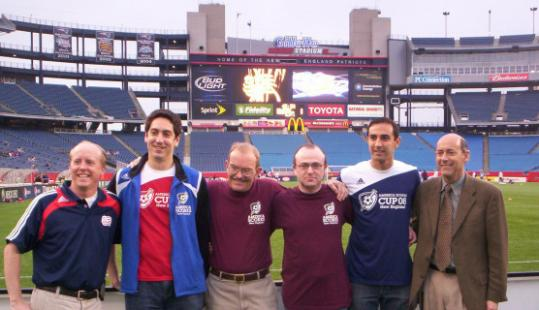 Organizers of the SCORES Cup have Gillette Stadium for the tournament's backdrop.