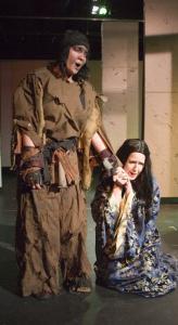 Aliana de la Guardia (left) sings the title role in ''Rumpelstiltskin,'' and Leslie Ann Leytham is Gretchen.