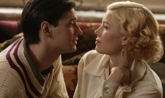 Ben Barnes and Jessica Biel in 'Easy Virtue'