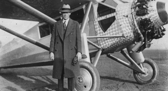 Hugh E. O'Donnell/Globe Staff/FileIn 1927, Charles Lindbergh made preparations for his plane, The Spirit of St. Louis.