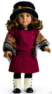 Rebecca Rubin, an American Girl doll, is 9 years old and lives in Manhattan.