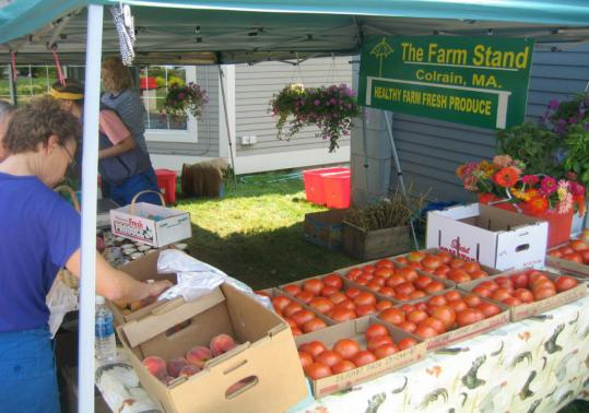 Local farmers are once again getting space to offer their products at rest stops along the Massachusetts Turnpike. The new season