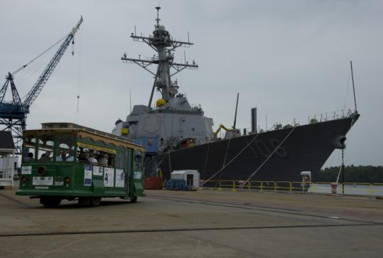 Bath Iron Works plans an undetermined number of temporary layoffs over the next four to six months, employees were told.