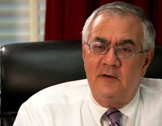 Barney Frank is one of the openly gay members of Congress interviewed in ''Outrage.''