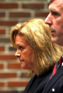 Superior Court Judge Christine McEvoy admitted yesterday to driving under the influence in April.