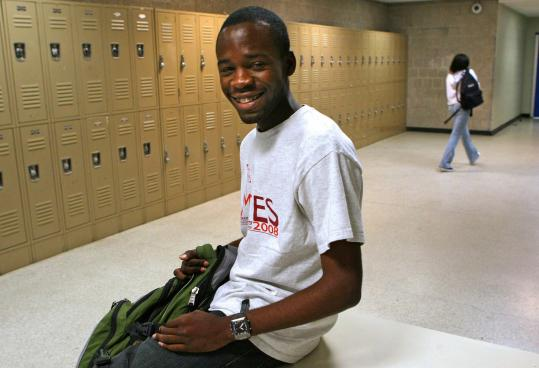 Edner Paul, a Haitian immigrant and John D. O'Bryant School of Mathematics and Science student, has a full scholarship to MIT.