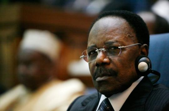 Omar Bongo kept a tight grip on power in the oil-rich former French colony since he became president in 1967.