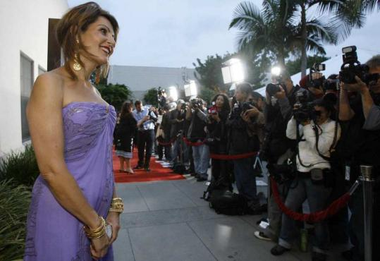 Nia Vardalos at a screening of ''My Life in Ruins,'' in which she plays a tour guide.