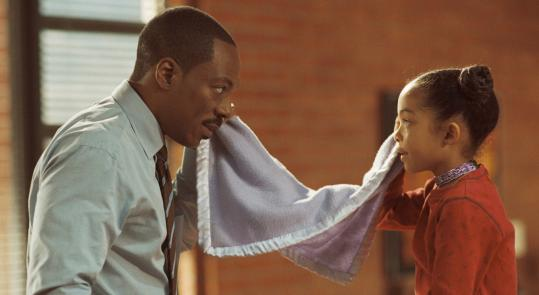 BRUCE MCBROOMThe chemistry between Eddie Murphy and Yara Shahidi as father and daughter is the best part of ''Imagine That.''