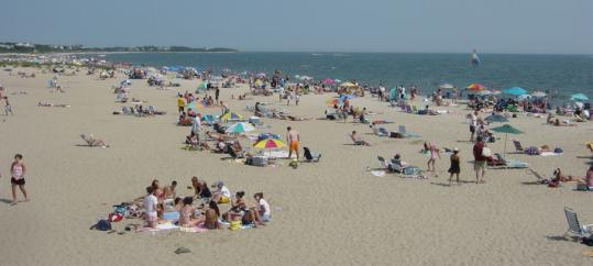 Beachgoers have flocked to Craigville, on Nantucket Sound, since the 1880s.