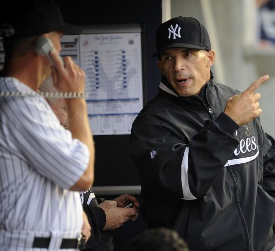 Yankees manager Joe Girardi pointed a finger at Brad Penny, who, it seems, couldn't care less.