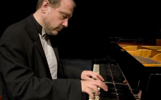 Marc-André Hamelin (here in 2008) showed off his brilliant technique at the 28th Rockport Chamber Music Festival.