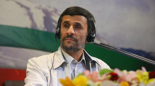 'If [the results] were real, why did they arrest members of the opposition parties?' -- Fatemeh Haghighatjoo, decrying the reelection of Mahmoud Ahmadinejad (above).