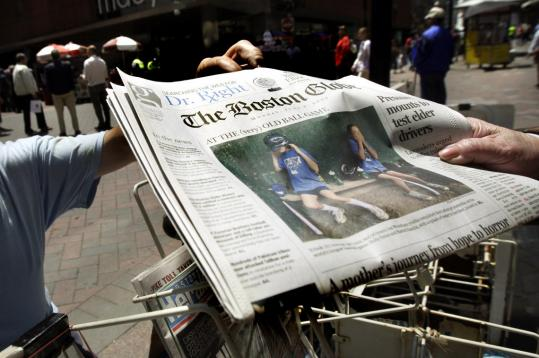 The New York Times Co. is seeking a buyer for The Boston Globe.
