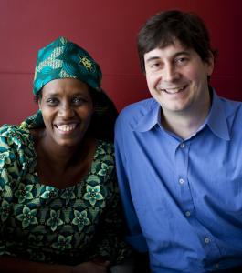 Rose Mapendo and Sasha Chanoff have helped more than 4,600 refugees resettle in the United States, work that will be recognized tonight by the UN's refugee agency.