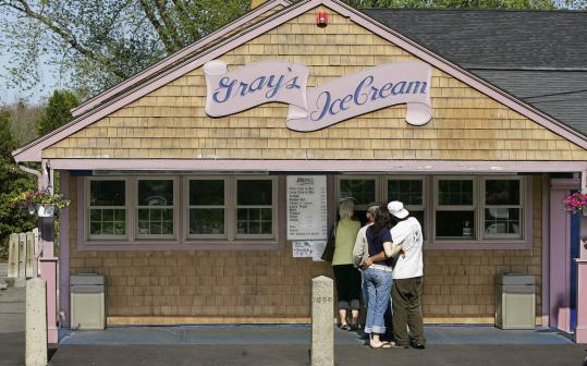 In Newport, Cold Fusion Gelato's owner studied with Italian masters; Gray's Ice Cream in Tiverton earned Gourmet's attention; and Brickley's in Wakefield offers as many as 48 flavors.