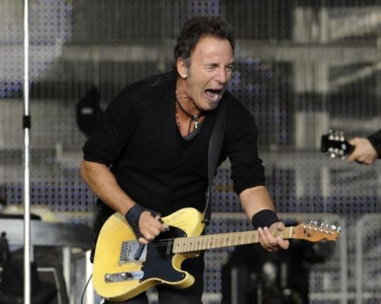 Bruce Springsteen, a New Jersey native, performed in Bergen, Norway, earlier this month.
