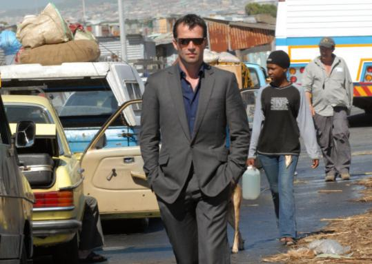 James Purefoy plays philanthropist Teddy Rist in the new NBC series