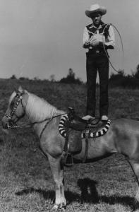New England television icon Rex Trailer was a rodeo performer before hosting the longtime WBZ children's show 'Boomtown.'