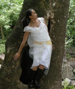 Marta Renzi and Project Company will perform Sunday in Harvard. Above, company member Mica Bernas in a previous production.