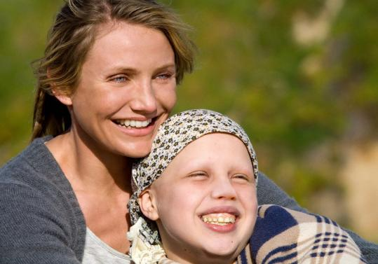 "Cameron Diaz plays a corporate lawyer on long-term leave and Sofia Vassilieva portrays her teenage daughter battling leukemia in ""My Sister's Keeper.''"