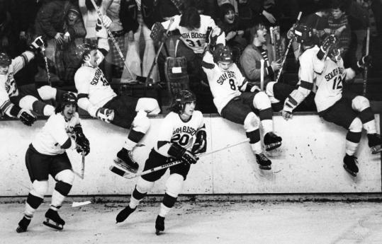 South Boston's hockey history includes this Division 1 championship in 1974, but the high school won't be sending any more skaters over the boards - the program is being shut down.