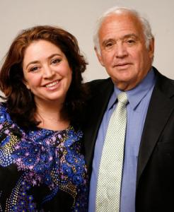 Director Liz Garbus and her father, lawyer Martin Garbus.