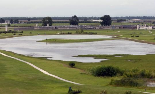 Prison View Golf Course at Louisiana State Penitentiary in Angola, the only course inside the confines of a US prison.