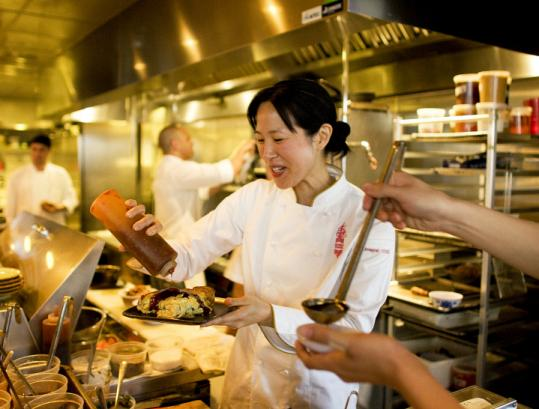 Joanne Chang, co-owner of Myers+Chang in Boston, said she uses Twitter to update menu items and offer recipes.
