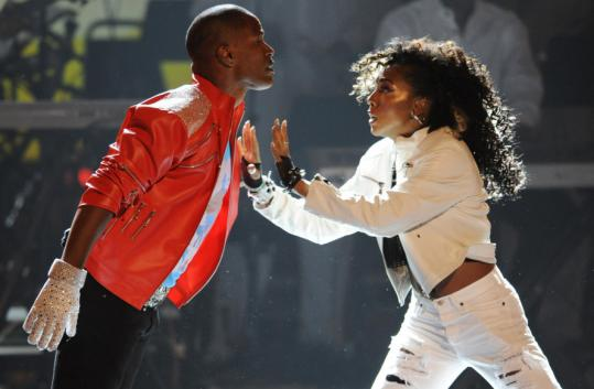 "Jamie Foxx began the BET Awards last night with a good-humored reenactment of Michael Jackson's moves from the ""Beat It'' video."