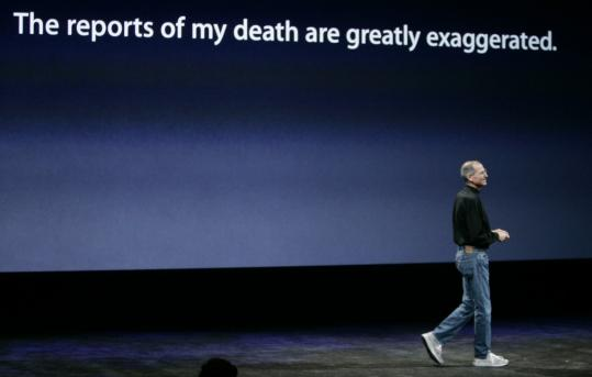 In 2008, before taking a leave from Apple, Steve Jobs spoke cryptically about his health.