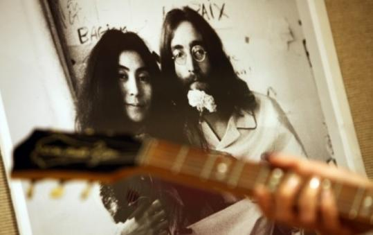 A Bay State judge has ruled that John Lennon's widow, Yoko Ono, is the rightful owner of movie footage taken in 1970.