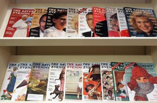 The Saturday Evening Post is returning to its roots with a redesign combining art and fiction with other articles.