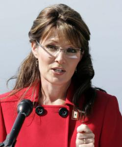 Governor Sarah Palin of Alaska made the surprise announcement in Wasilla.
