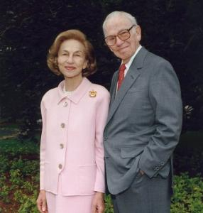Ruth and Carl Shapiro, in an undated photo.