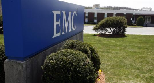 EMC Corp., which has its headquarters in Hopkinton, is the largest data storage firm in the world.