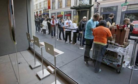 People stood in line to buy the new Apple iPhone 3G S last month - but it can't be used on any network except AT&T's, thanks to exclusivity deals between handset makers and the telecoms.
