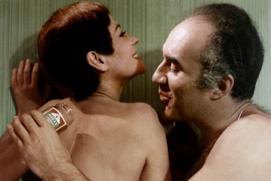"Annie Girardot and Michel Piccoli in the Italian film ""Dillinger Is Dead.''"