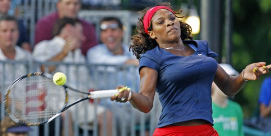 Serena Williams had reason to be tired, yet still won all three of her matches.
