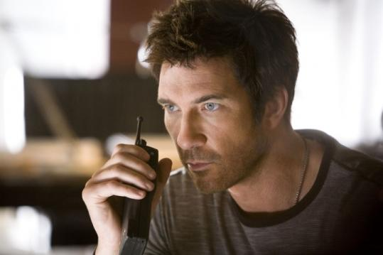 "Dylan McDermott plays a workaholic renegade at the head of the ensemble in TNT's new police series ""Dark Blue.''"
