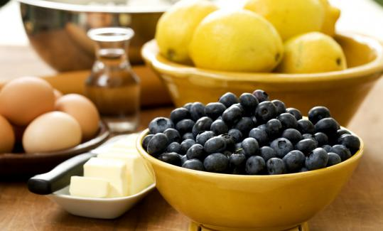 Be generous with the blueberries; the fruit will cook down in your pie.