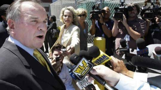 Chicago Mayor Richard Daley talked about the convicted killer who was caught near his Michigan vacation home.