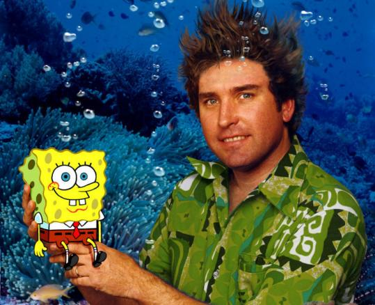 "Steve Hillenburg was a marine biologist before ""SpongeBob.''"