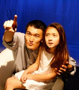 """Chen Tang (left) and Sydney K. Penny will star in """"After the Quake'' at Company One."""