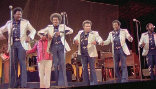 PHOTOS COURTESY OF ANTIDOTE FILMS/SONY PICTURES CLASSICSThe choreographed fun of the Spinners was part of the concert in 1974.